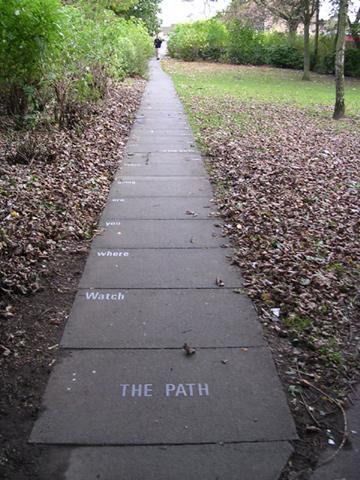 david harding poetry path 1976