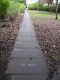 'Path Poem', with Alan Bold. 1976